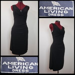American Living Dress woman sleeveless wrap dress